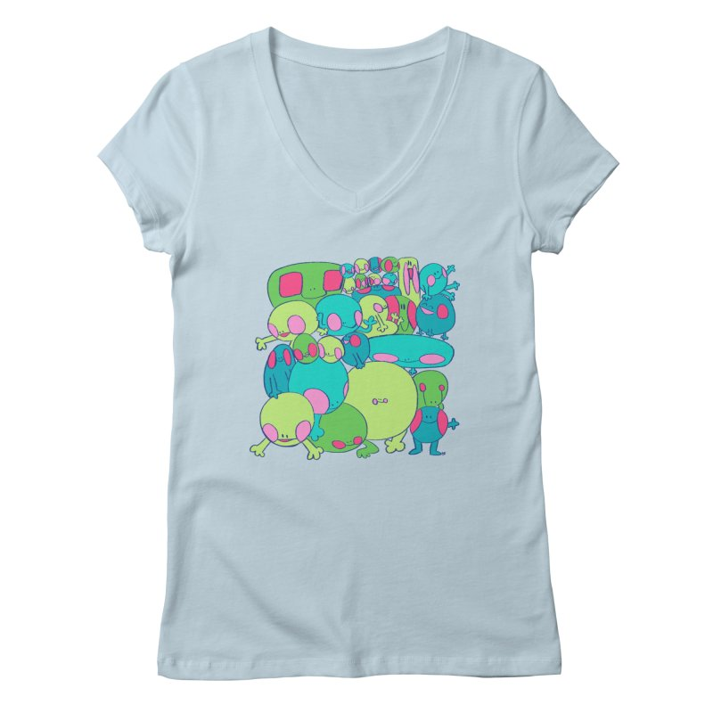 the clan Women's V-Neck by CoolStore