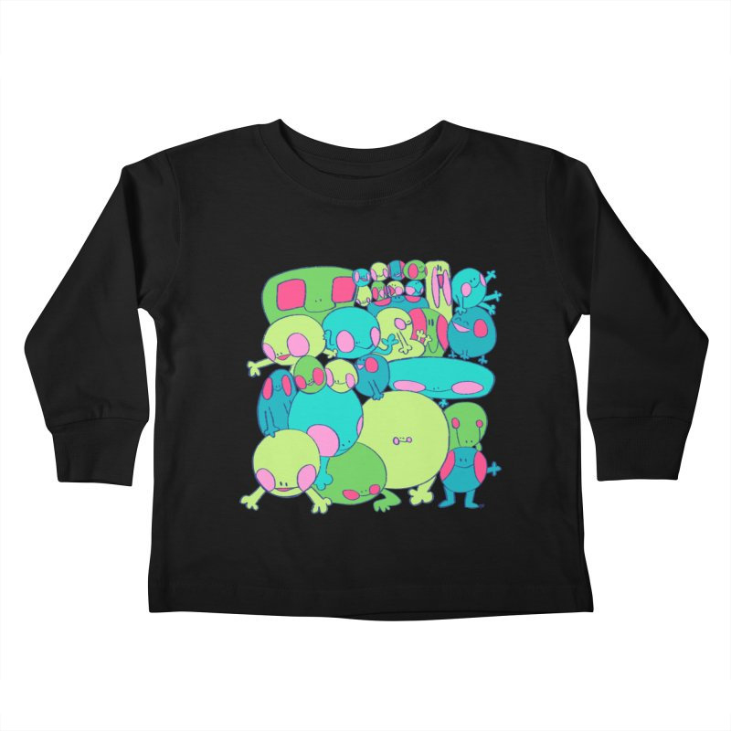 the clan Kids Toddler Longsleeve T-Shirt by CoolStore