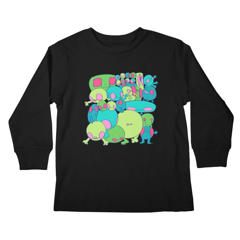 the clan Kids Longsleeve T-Shirt by CoolStore