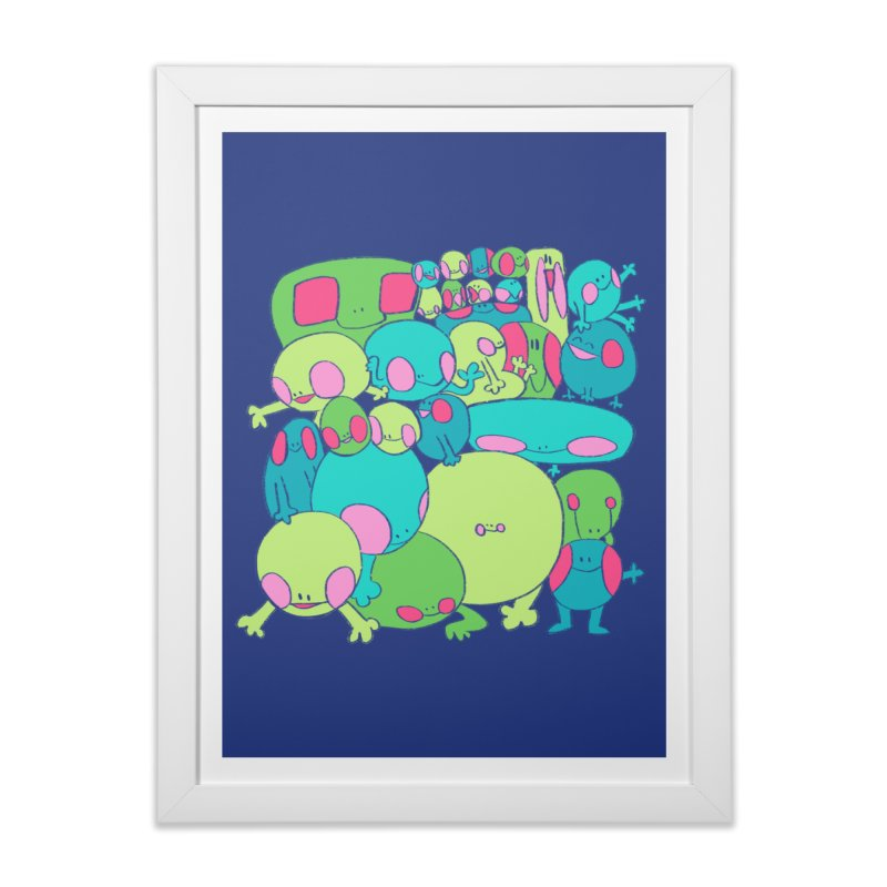 the clan Home Framed Fine Art Print by CoolStore