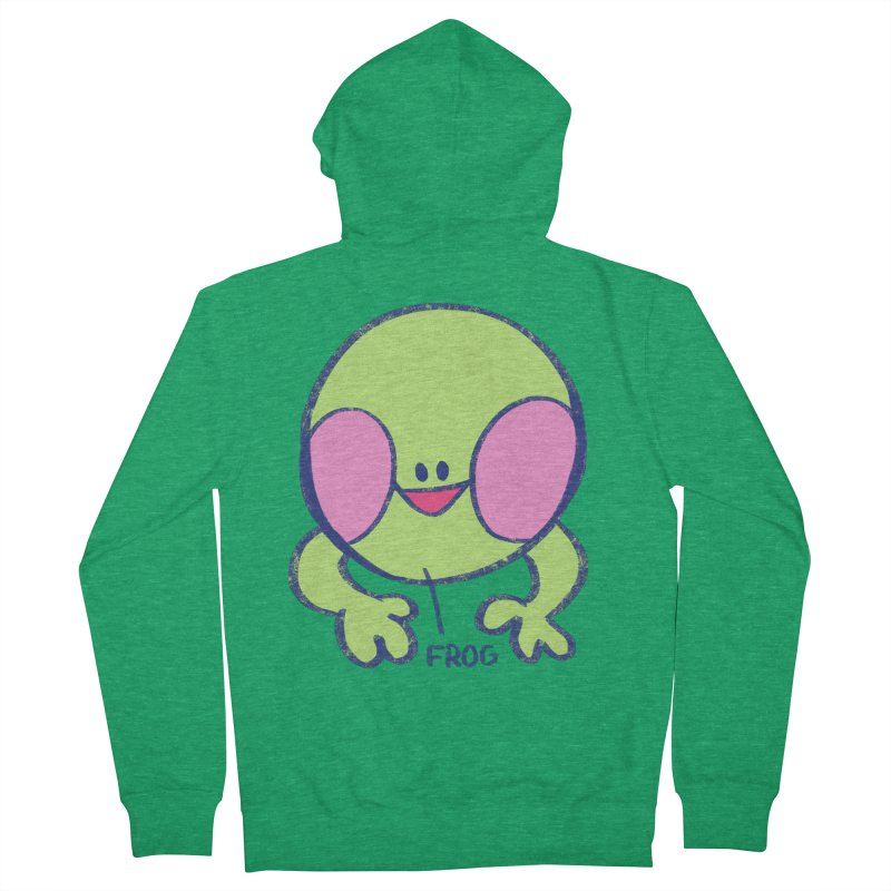 that sure is a frog Men's Zip-Up Hoody by CoolStore