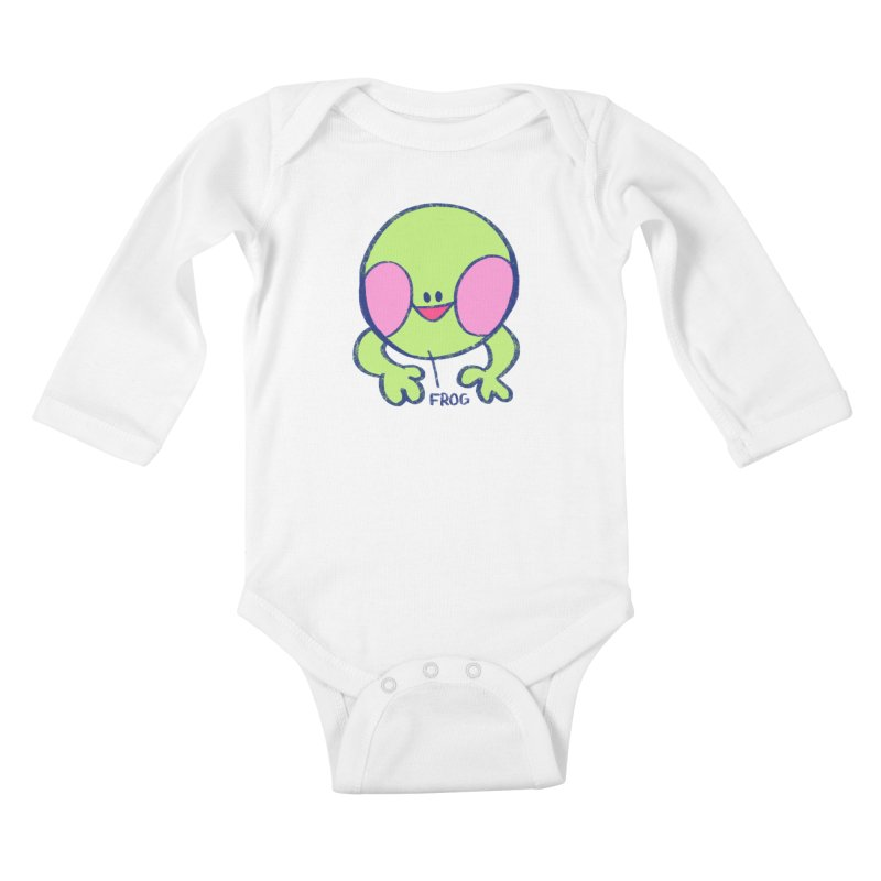 that sure is a frog Kids Baby Longsleeve Bodysuit by CoolStore