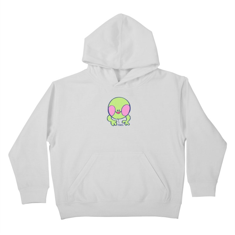 that sure is a frog Kids Pullover Hoody by CoolStore