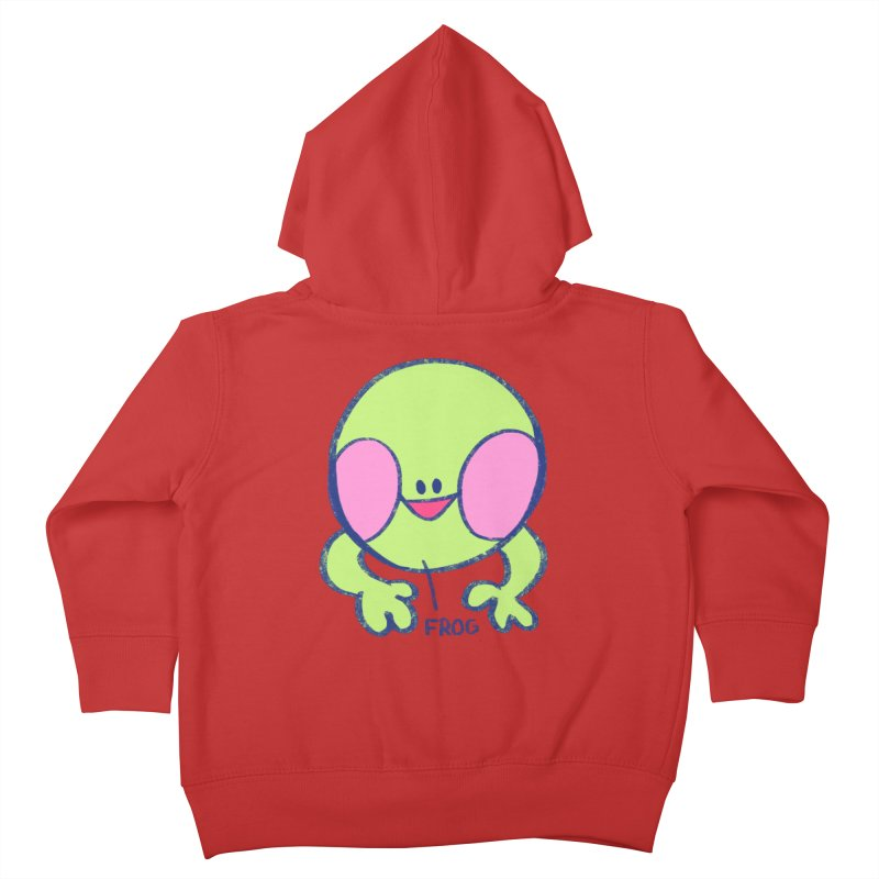 that sure is a frog Kids Toddler Zip-Up Hoody by CoolStore