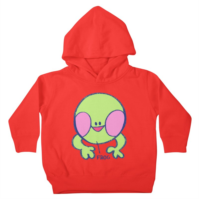 that sure is a frog Kids Toddler Pullover Hoody by CoolStore