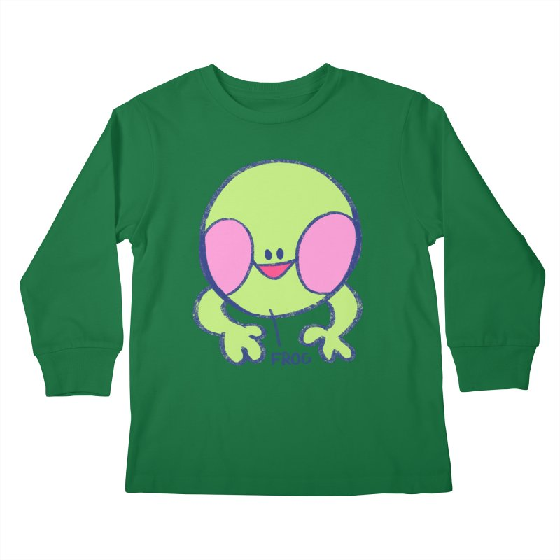 that sure is a frog Kids Longsleeve T-Shirt by CoolStore