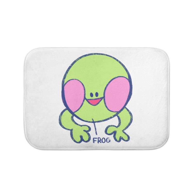 that sure is a frog Home Bath Mat by CoolStore