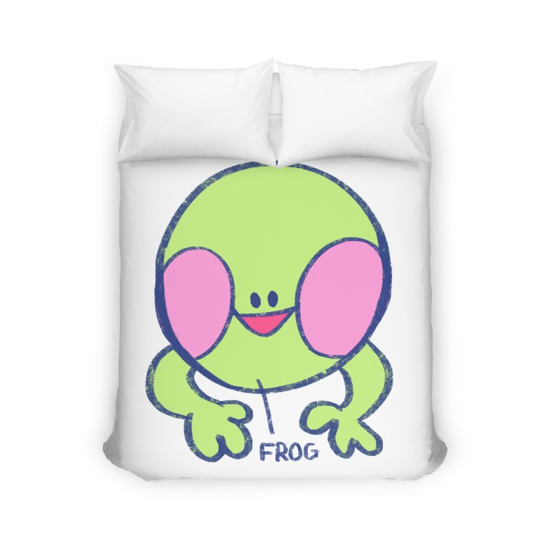 that sure is a frog Home Duvet by CoolStore