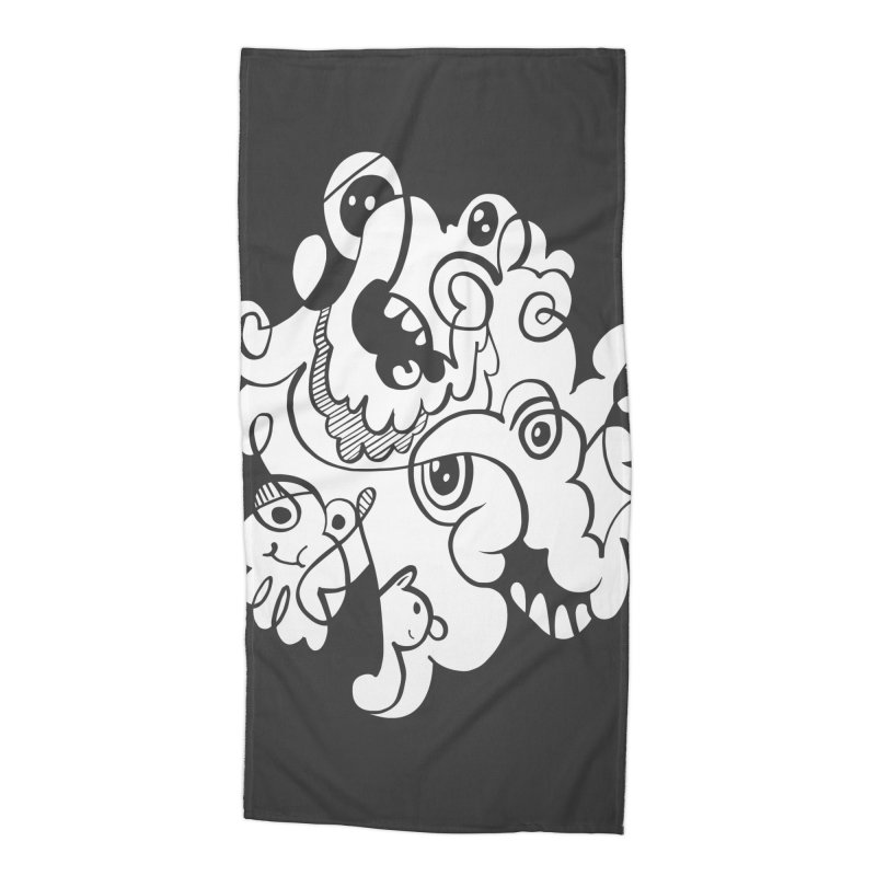 Doodle of the day I Accessories Beach Towel by Favati