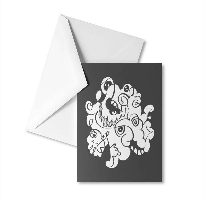 Doodle of the day I Accessories Greeting Card by Favati