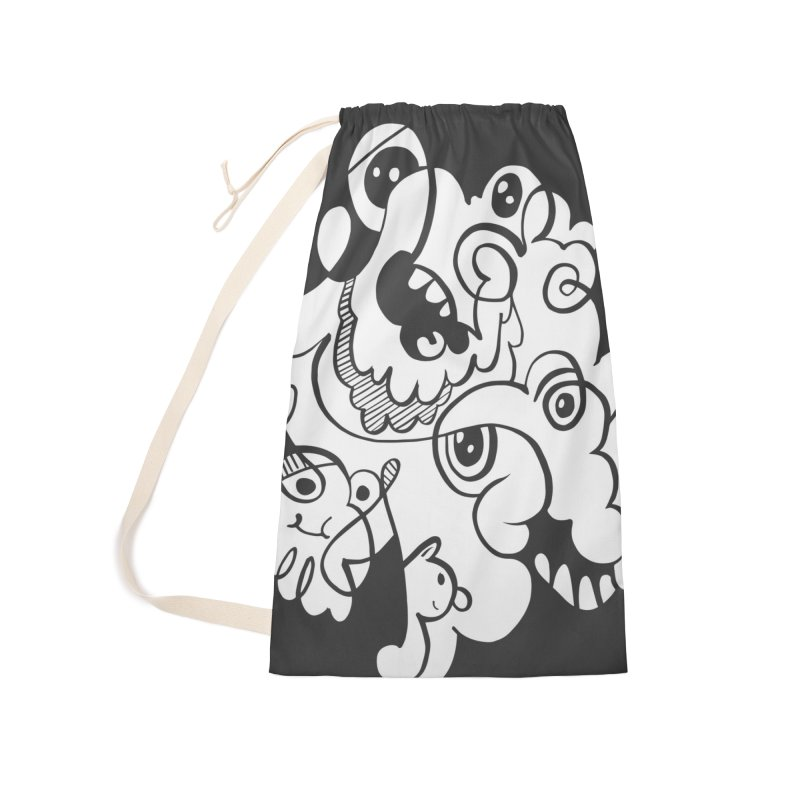 Doodle of the day I Accessories Laundry Bag Bag by Favati