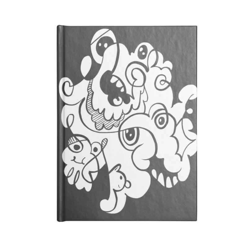 Doodle of the day I Accessories Lined Journal Notebook by Favati