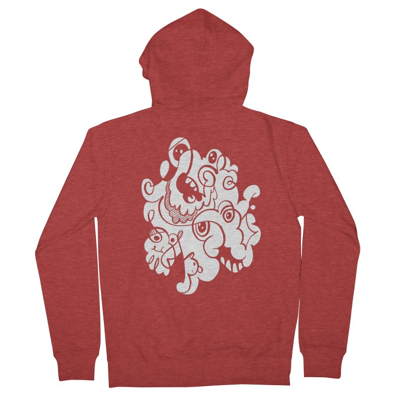 Doodle of the day I Women's French Terry Zip-Up Hoody by Favati
