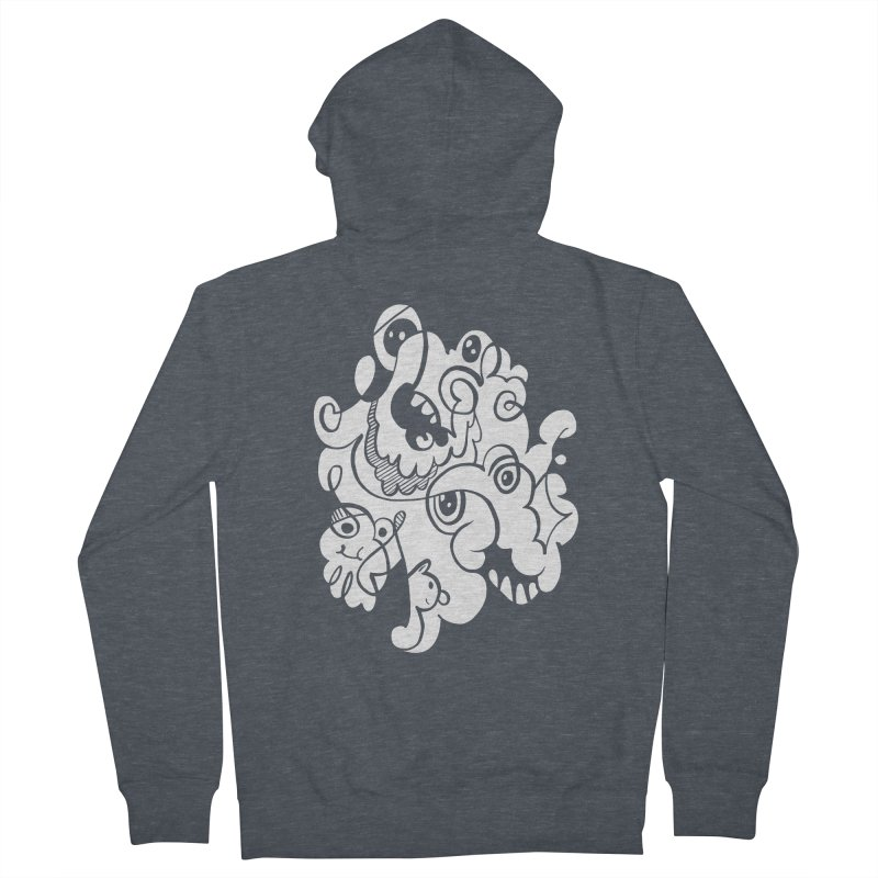 Doodle of the day I Men's French Terry Zip-Up Hoody by Favati