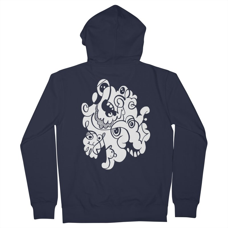 Doodle of the day I Men's Zip-Up Hoody by Favati