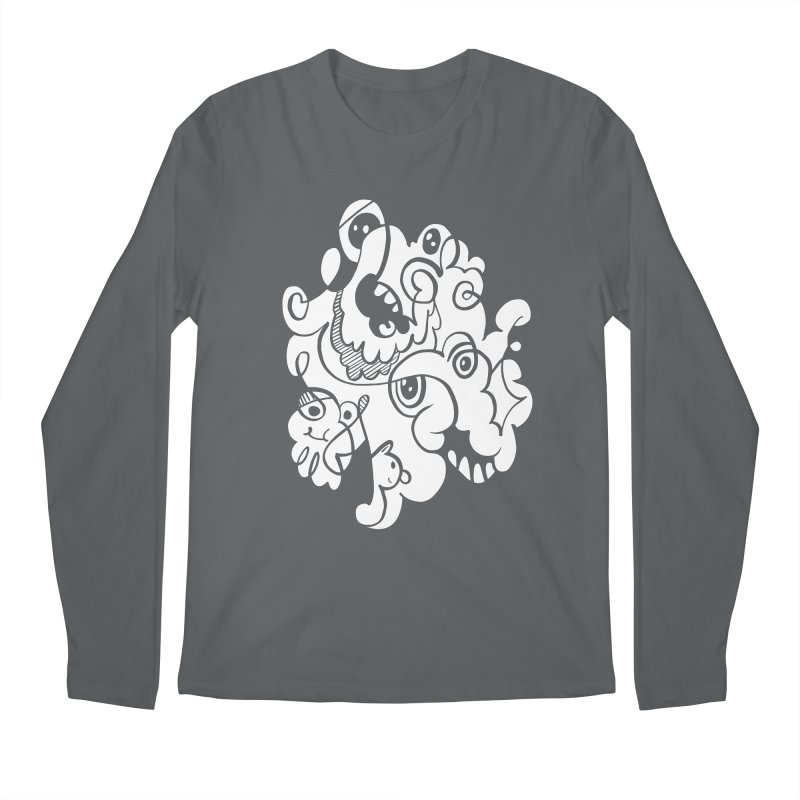 Doodle of the day I Men's Regular Longsleeve T-Shirt by Favati