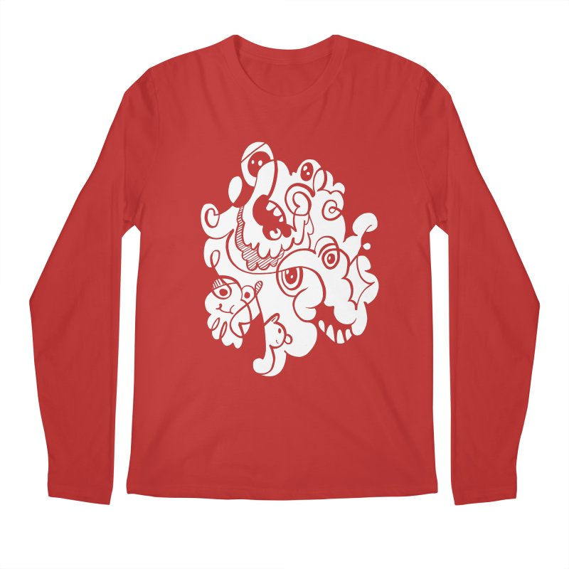 Doodle of the day I Men's Longsleeve T-Shirt by Favati
