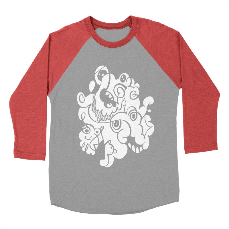 Doodle of the day I Men's Baseball Triblend T-Shirt by Favati
