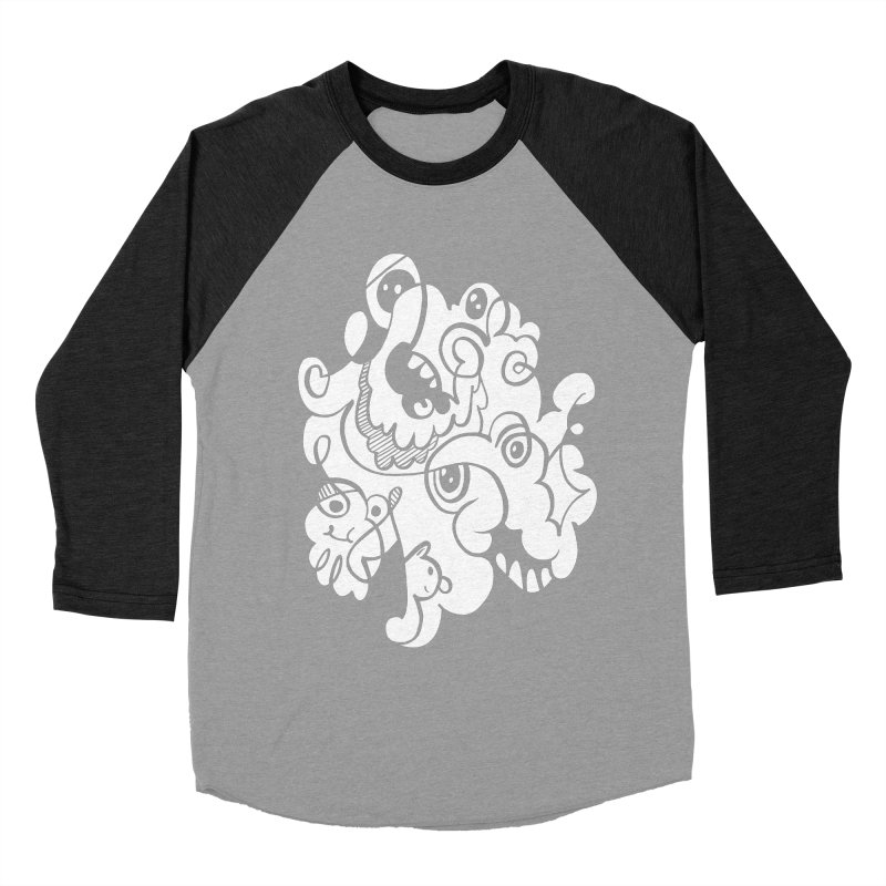 Doodle of the day I Men's Baseball Triblend Longsleeve T-Shirt by Favati