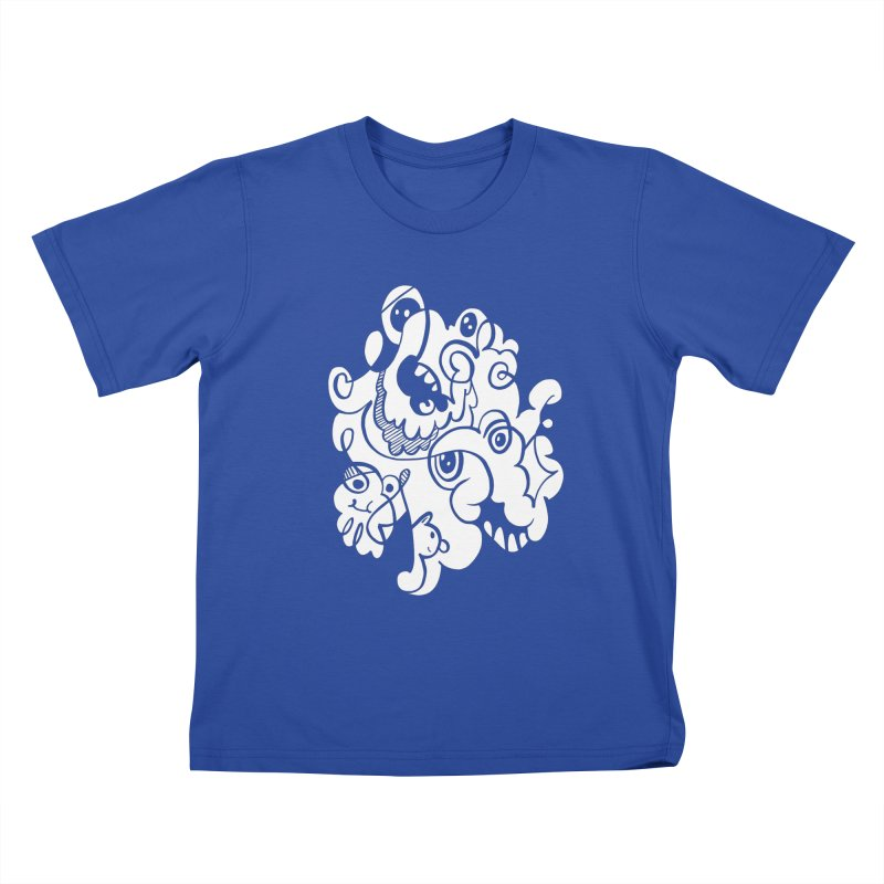 Doodle of the day I Kids T-Shirt by Favati