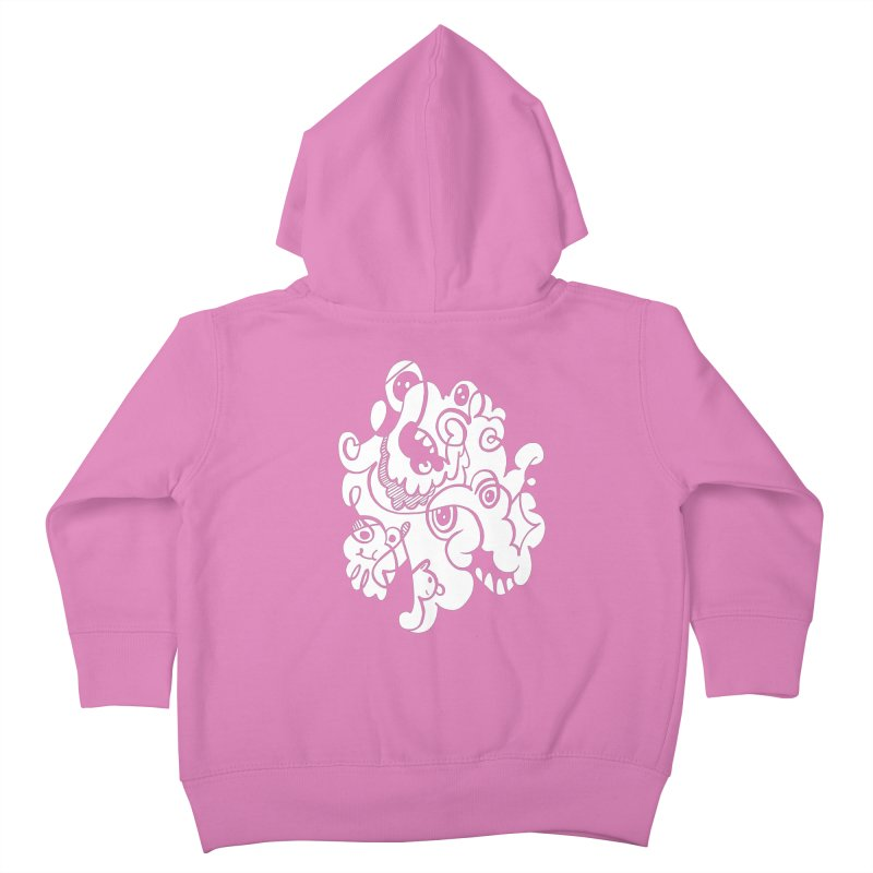 Doodle of the day I Kids Toddler Zip-Up Hoody by Favati