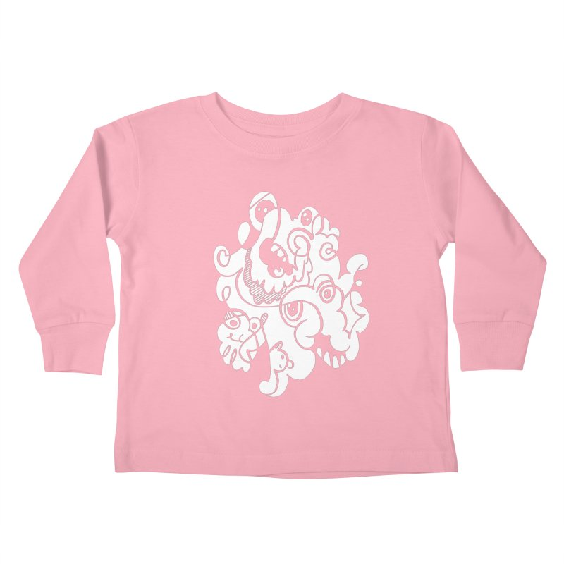 Doodle of the day I Kids Toddler Longsleeve T-Shirt by Favati