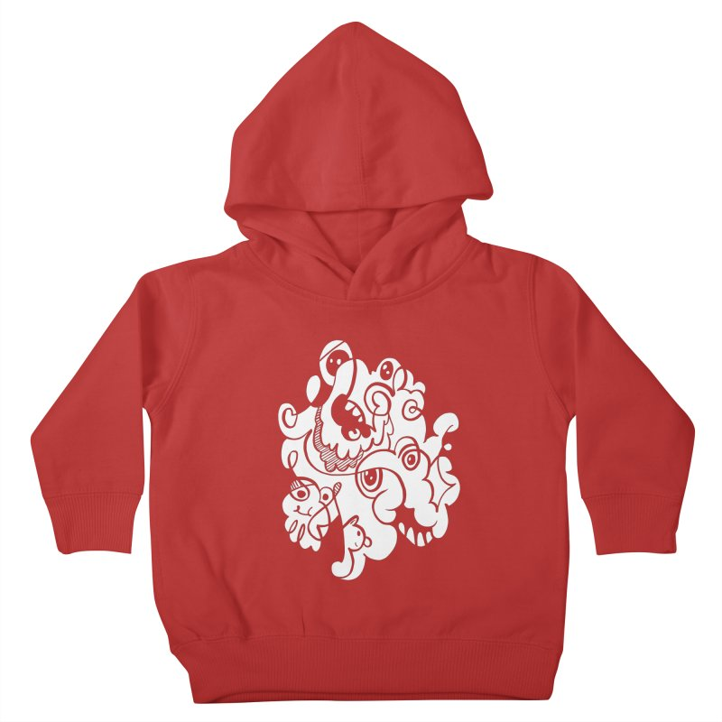 Doodle of the day I Kids Toddler Pullover Hoody by Favati