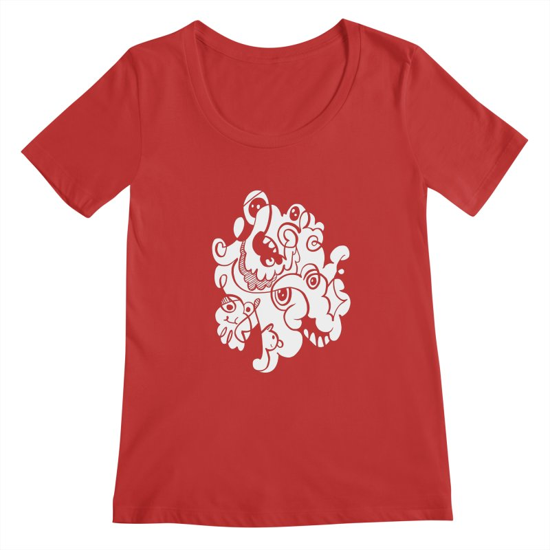 Doodle of the day I Women's Regular Scoop Neck by Favati