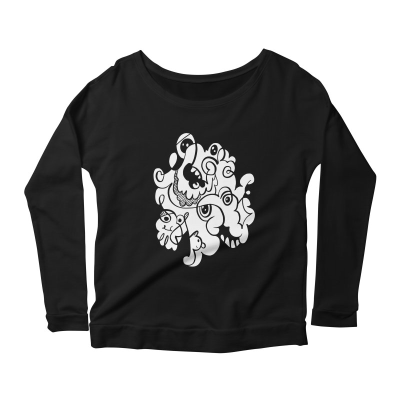 Doodle of the day I Women's Longsleeve Scoopneck  by Favati