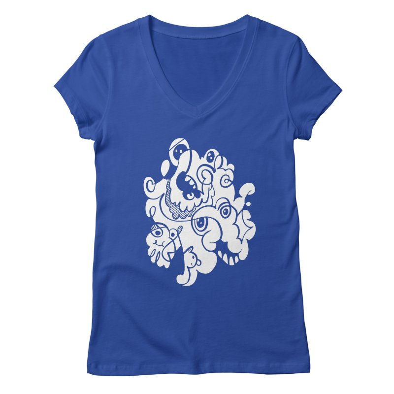 Doodle of the day I Women's V-Neck by Favati
