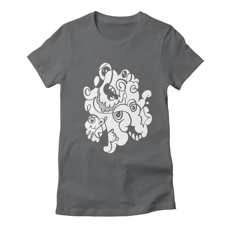 Doodle of the day I Women's Fitted T-Shirt by Favati