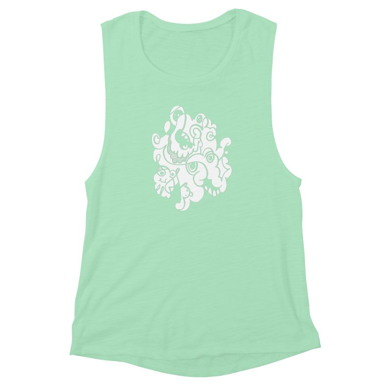 Doodle of the day I Women's Muscle Tank by Favati