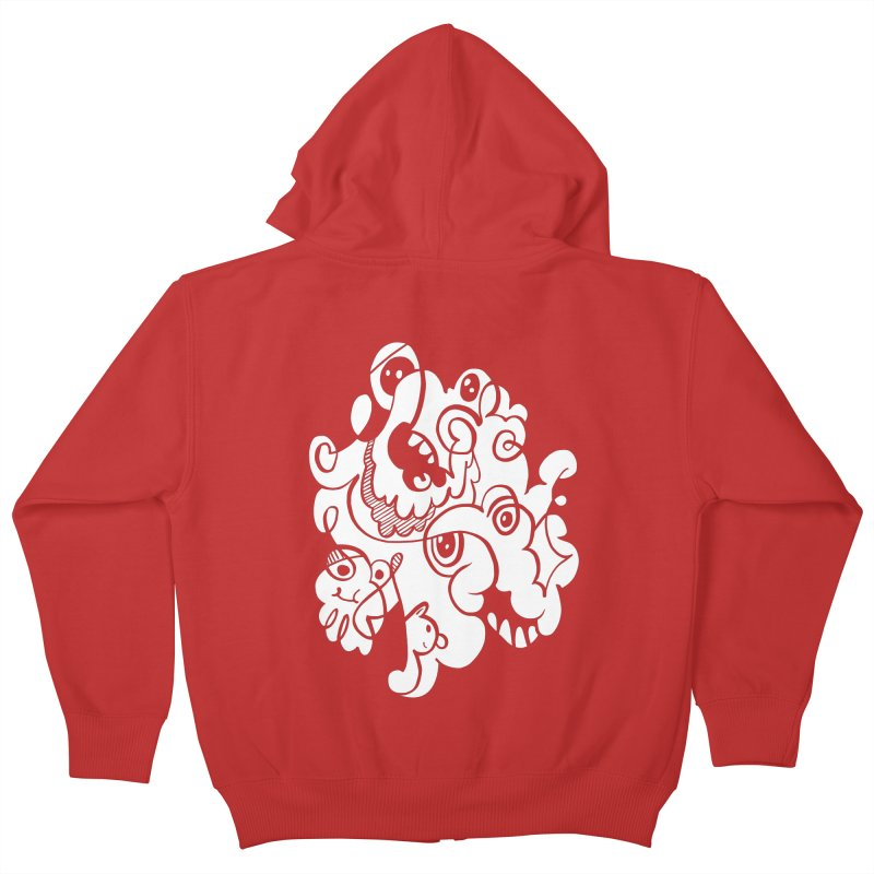 Doodle of the day I Kids Zip-Up Hoody by Favati