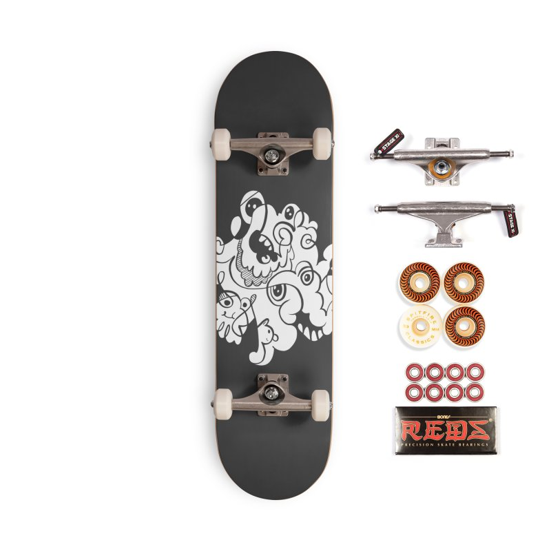 Doodle of the day I Accessories Skateboard by Favati