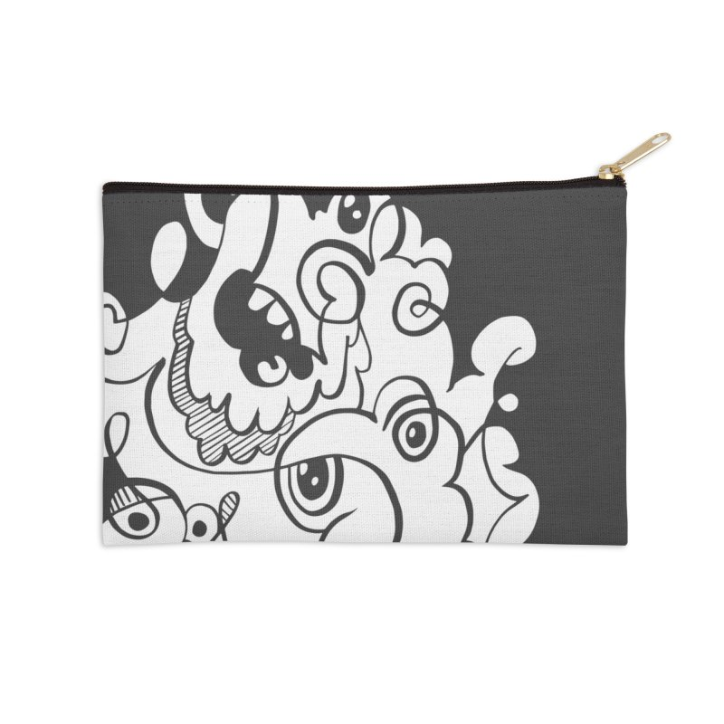 Doodle of the day I Accessories Zip Pouch by Favati