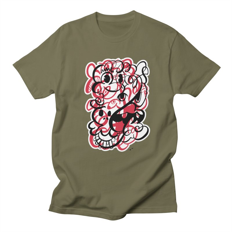 Doodle of the day II – red version Women's Regular Unisex T-Shirt by Favati