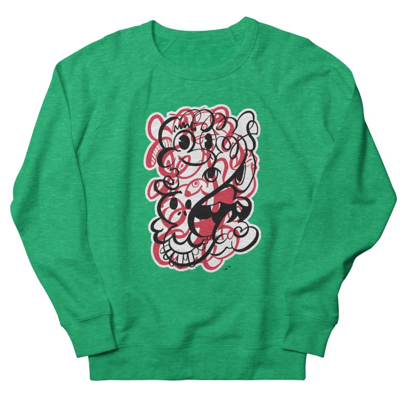 Doodle of the day II – red version Women's Sweatshirt by Favati