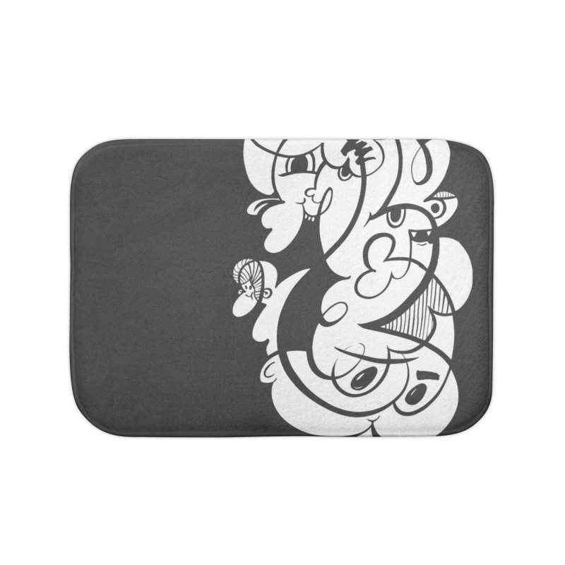 Doodle of the day V Home Bath Mat by Favati