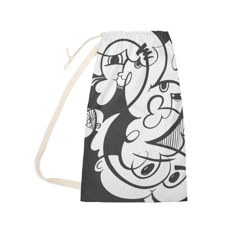 Doodle of the day V Accessories Laundry Bag Bag by Favati