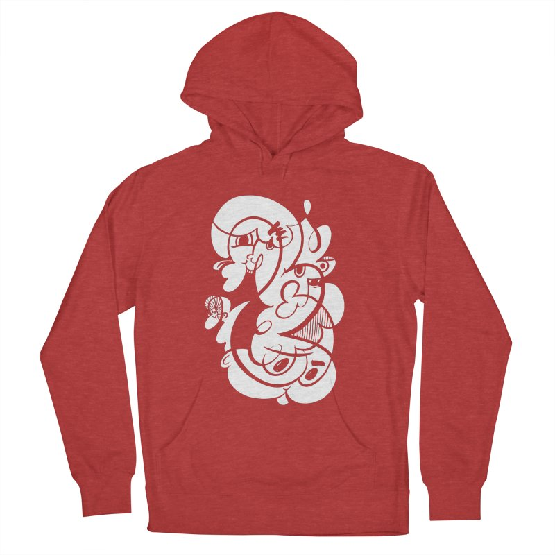 Doodle of the day V Women's Pullover Hoody by Favati