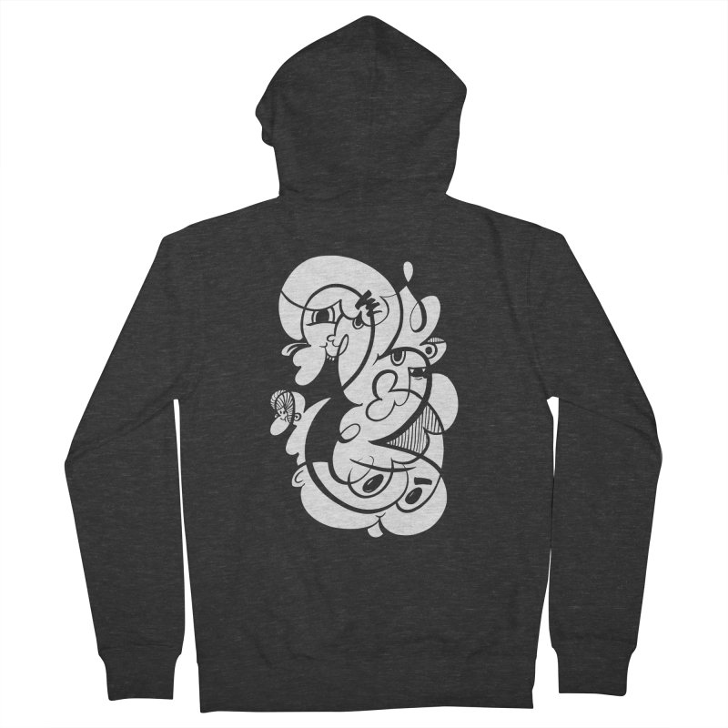 Doodle of the day V Men's Zip-Up Hoody by Favati