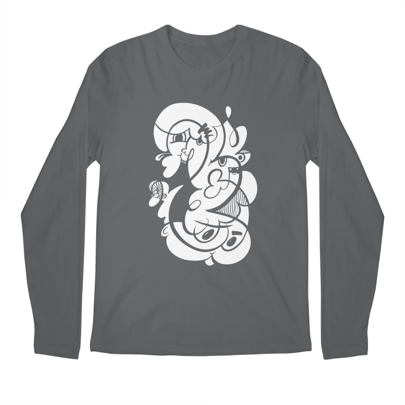 Doodle of the day V Men's Longsleeve T-Shirt by Favati
