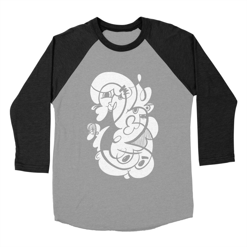 Doodle of the day V Women's Baseball Triblend T-Shirt by Favati