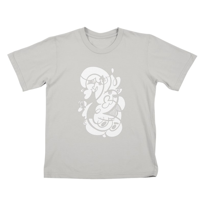 Doodle of the day V Kids T-Shirt by Favati