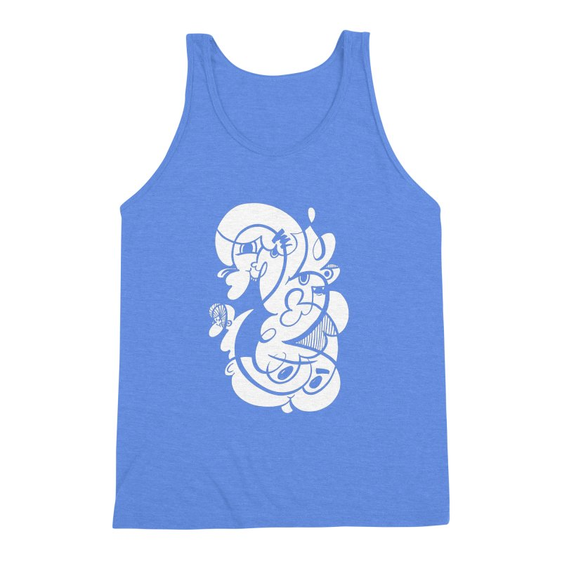Doodle of the day V Men's Triblend Tank by Favati