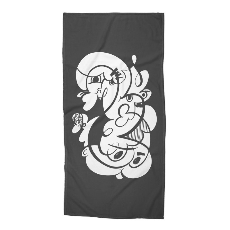 Doodle of the day V Accessories Beach Towel by Favati