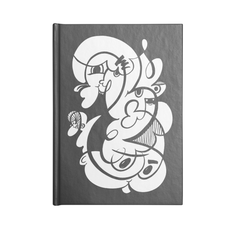 Doodle of the day V Accessories Notebook by Favati