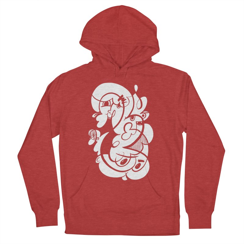 Doodle of the day V Women's French Terry Pullover Hoody by Favati