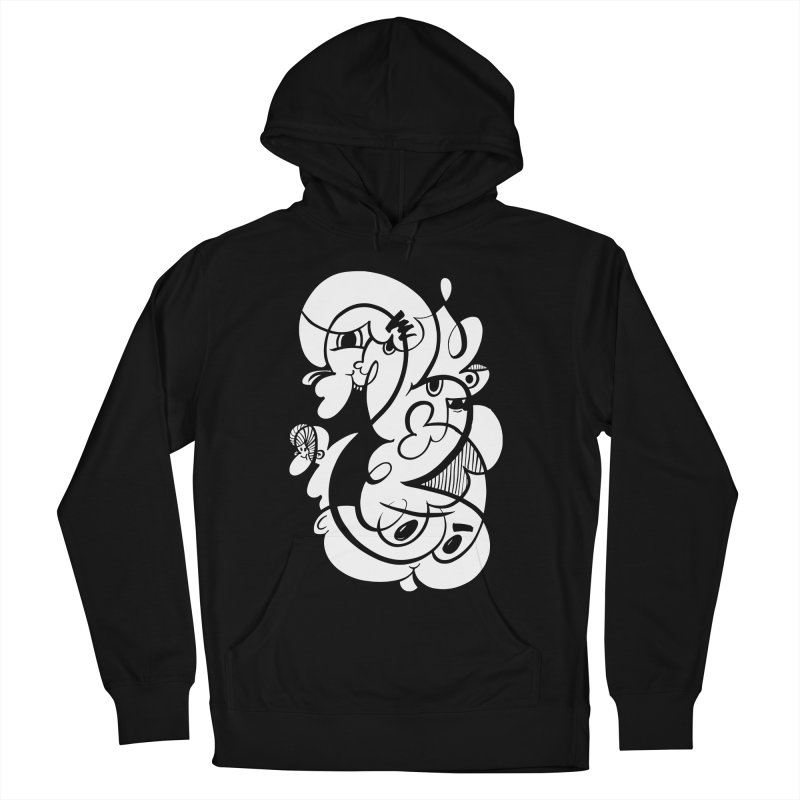 Doodle of the day V Men's French Terry Pullover Hoody by Favati