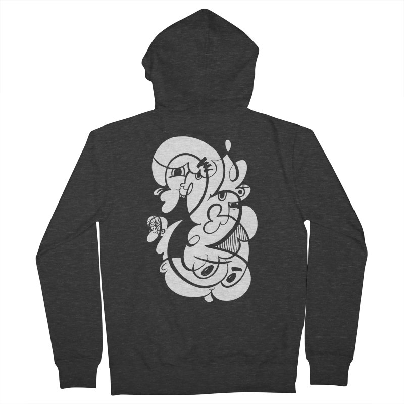 Doodle of the day V Women's French Terry Zip-Up Hoody by Favati